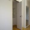東高森団地18号棟賃貸物件|洗面所の扉と洗濯機置場の位置を見てほしいリフォーム