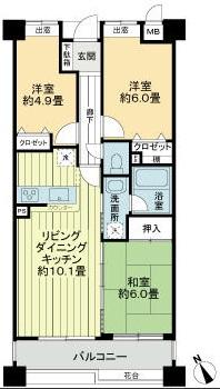 レクセルマンション愛甲石田第2